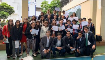 Mejor Delegación Grande de Peru Model United Nations 2019